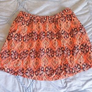 Indie mini skirt!